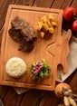 Bambum Rodeo - Kesme & Steak Tahtası Renkli